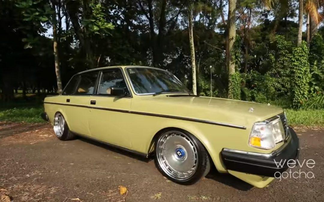 Volvo 244 GL – Suédoise d'Asie !
