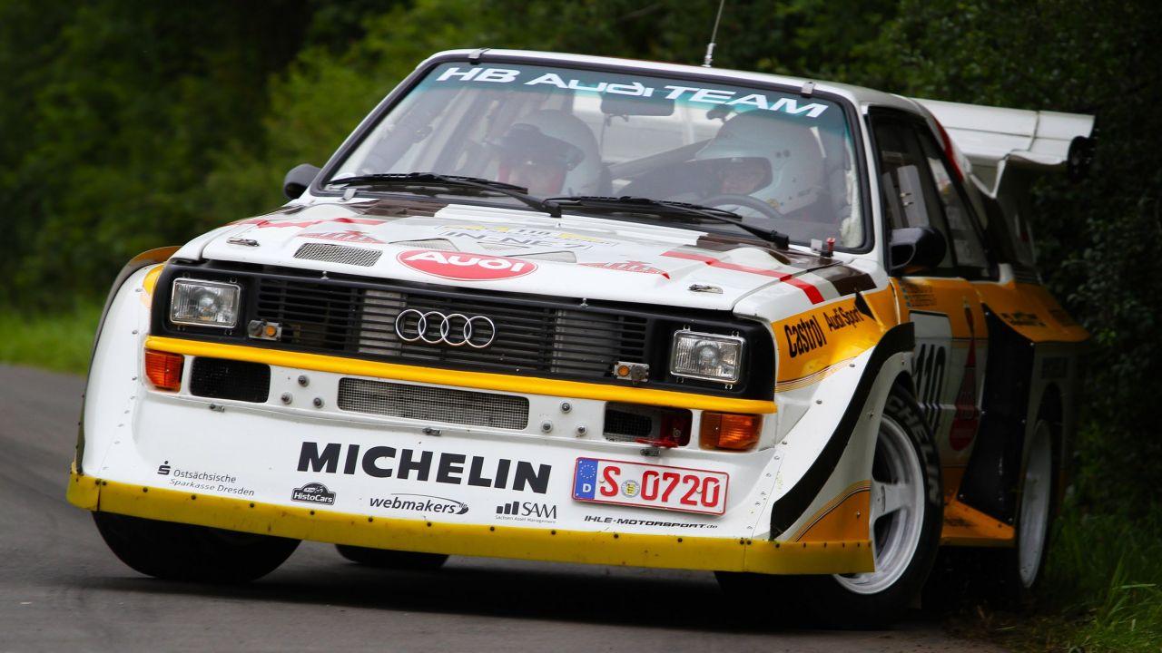 Audi Quattro S1… Cours de danse avec Walter ! 15