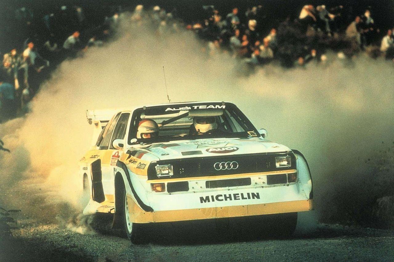 Audi Quattro S1… Cours de danse avec Walter ! 14