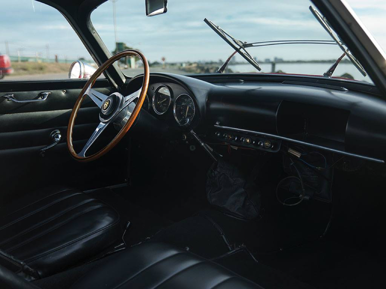 "'62 Alfa Giulietta Sprint Zagato ""Coda Tronca"" - Coupez lui la queue, elle ira plus vite ! 4"
