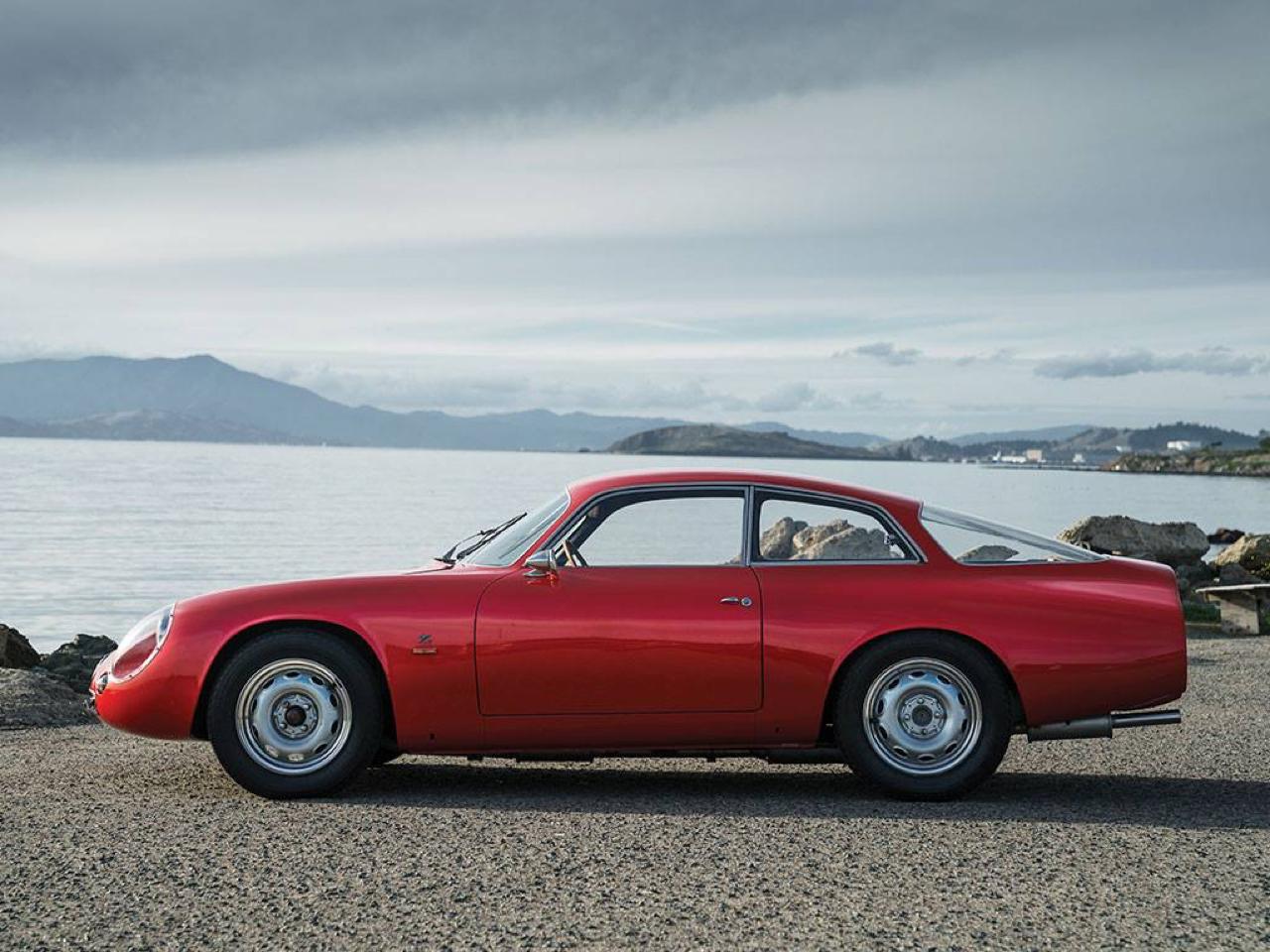 "'62 Alfa Giulietta Sprint Zagato ""Coda Tronca"" - Coupez lui la queue, elle ira plus vite ! 30"