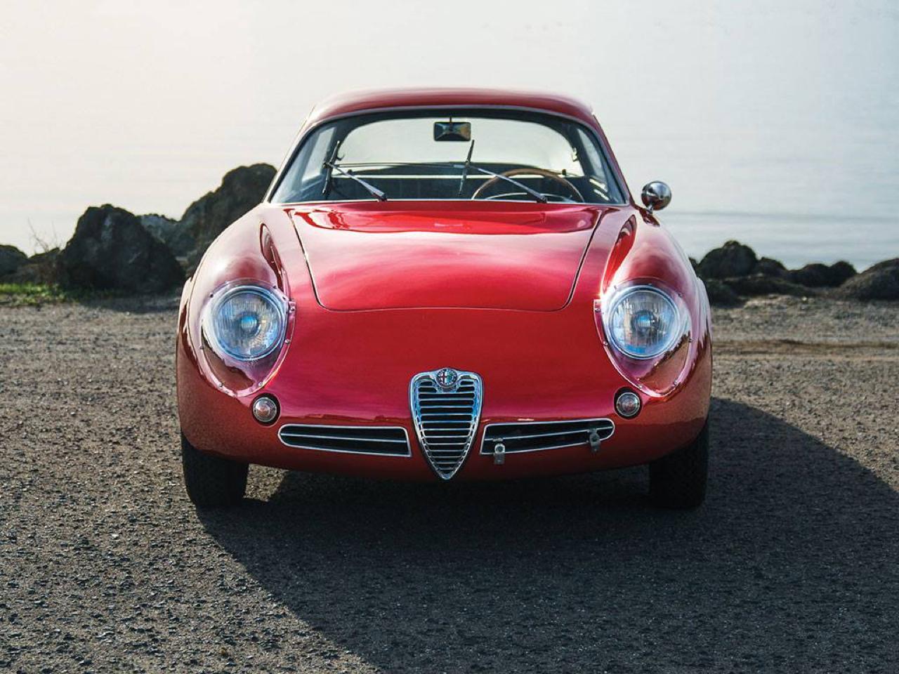 "'62 Alfa Giulietta Sprint Zagato ""Coda Tronca"" - Coupez lui la queue, elle ira plus vite ! 1"