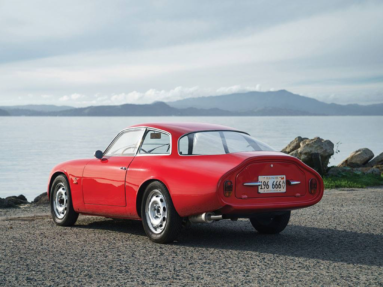 "'62 Alfa Giulietta Sprint Zagato ""Coda Tronca"" - Coupez lui la queue, elle ira plus vite ! 8"