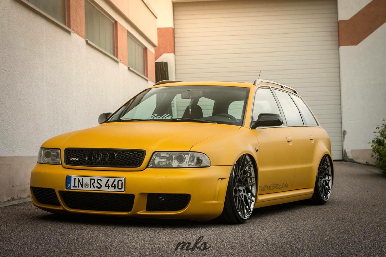 Bagged Audi RS4... Une familiale ça a du bon aussi ! 19