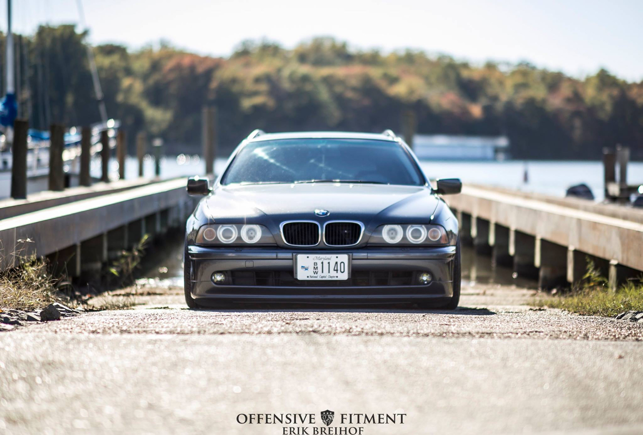 Slammed BMW E39 Touring... Pas si ringarde que ça ! 40