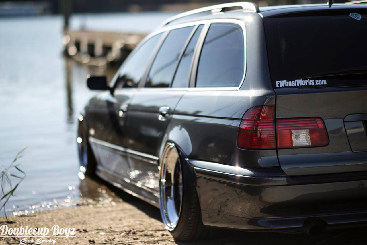 Slammed BMW E39 Touring... Pas si ringarde que ça ! 39