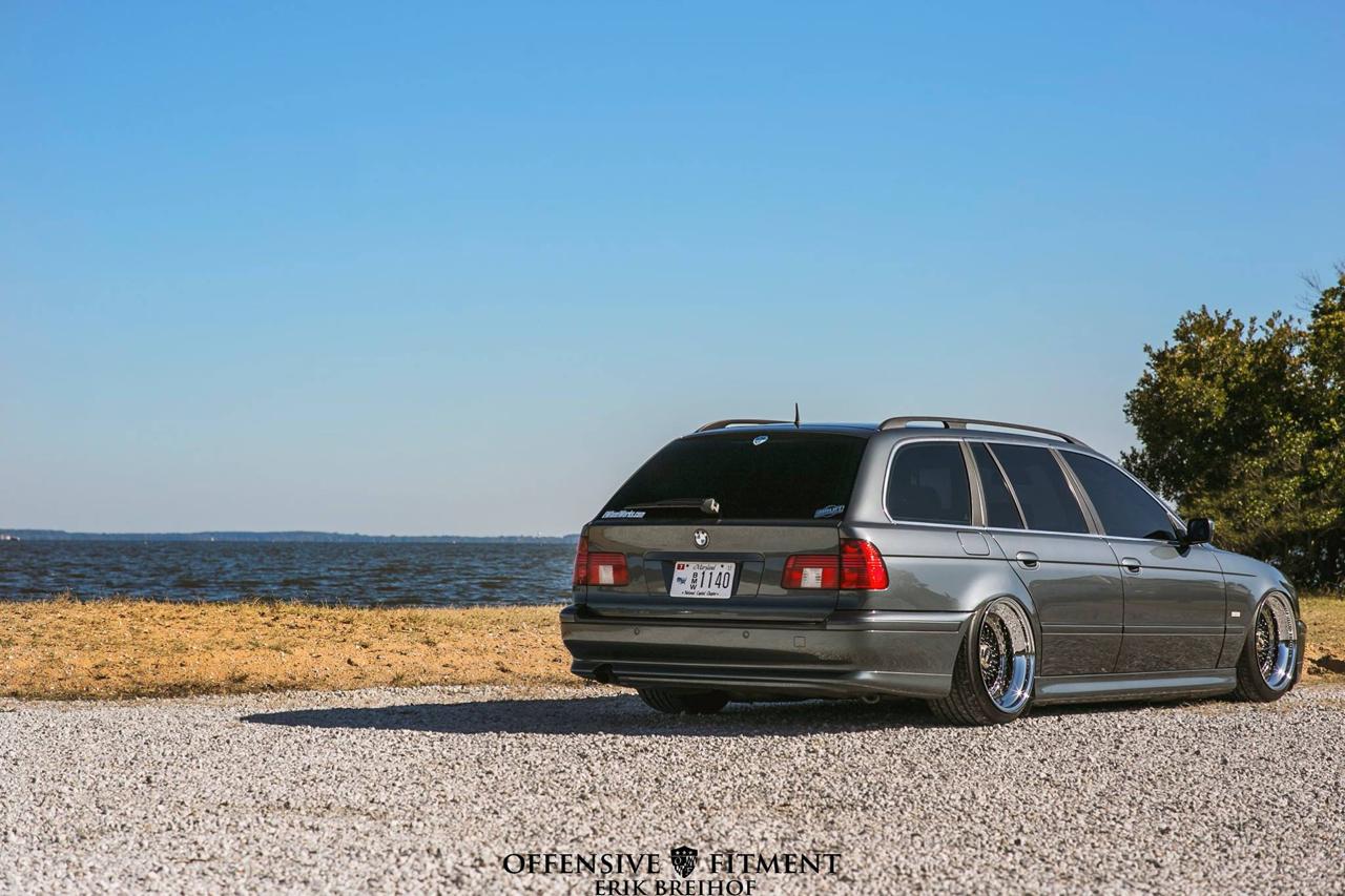 Slammed BMW E39 Touring... Pas si ringarde que ça ! 33