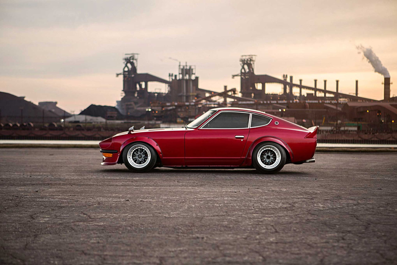 '77 Datsun 280Z - Street red Devil ! 36