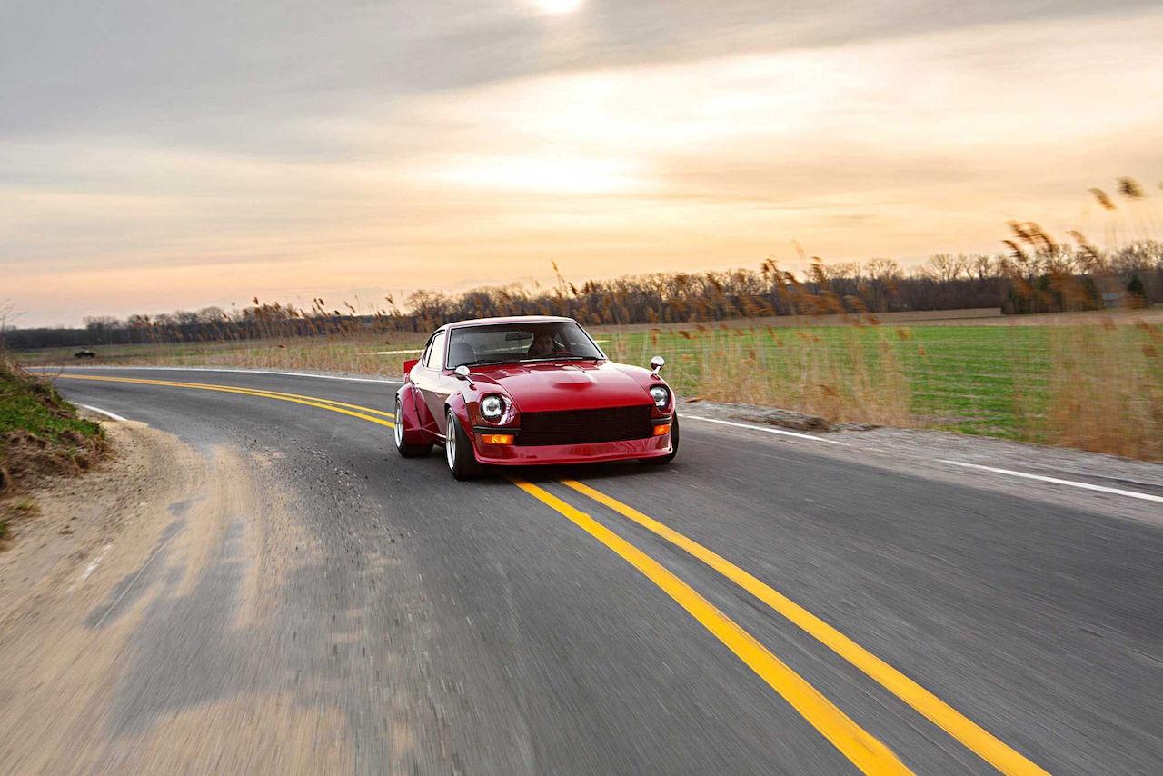 '77 Datsun 280Z - Street red Devil ! 2