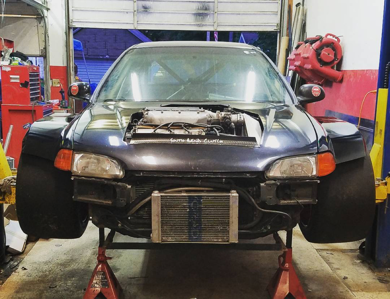 Hillclimb Monster : Honda Civic V6 Turbo... Brutale ! 11