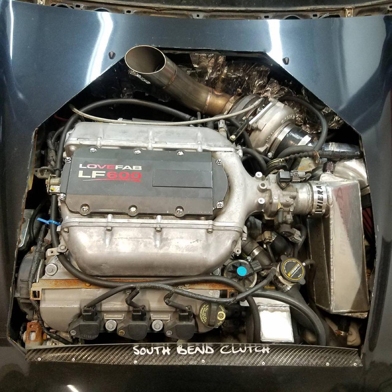 Hillclimb Monster : Honda Civic V6 Turbo... Brutale ! 21