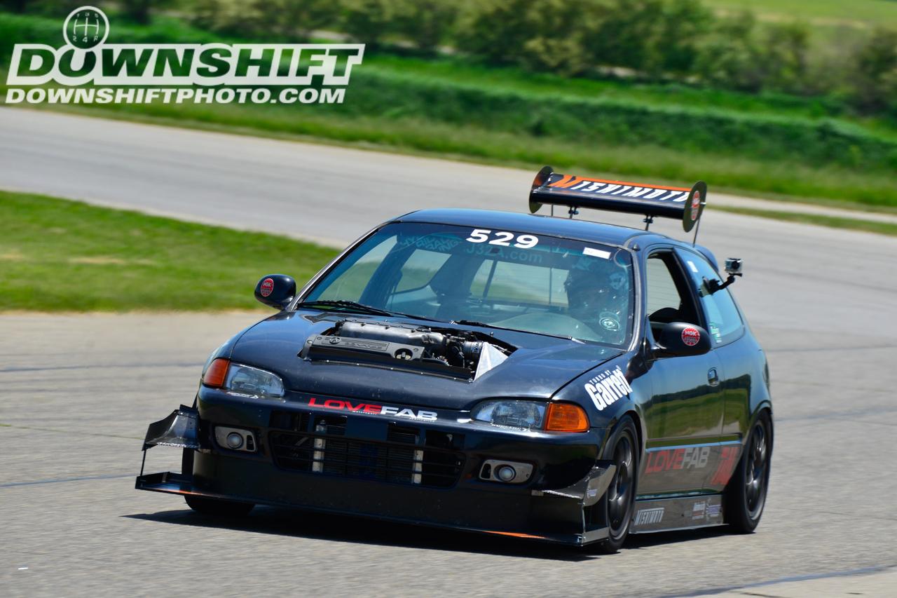 Hillclimb Monster : Honda Civic V6 Turbo... Brutale ! 23
