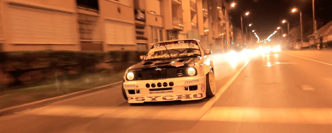 Night Drift Illegal Style - Csaba Vigh et sa E30 lâchés dans les rues ! 1