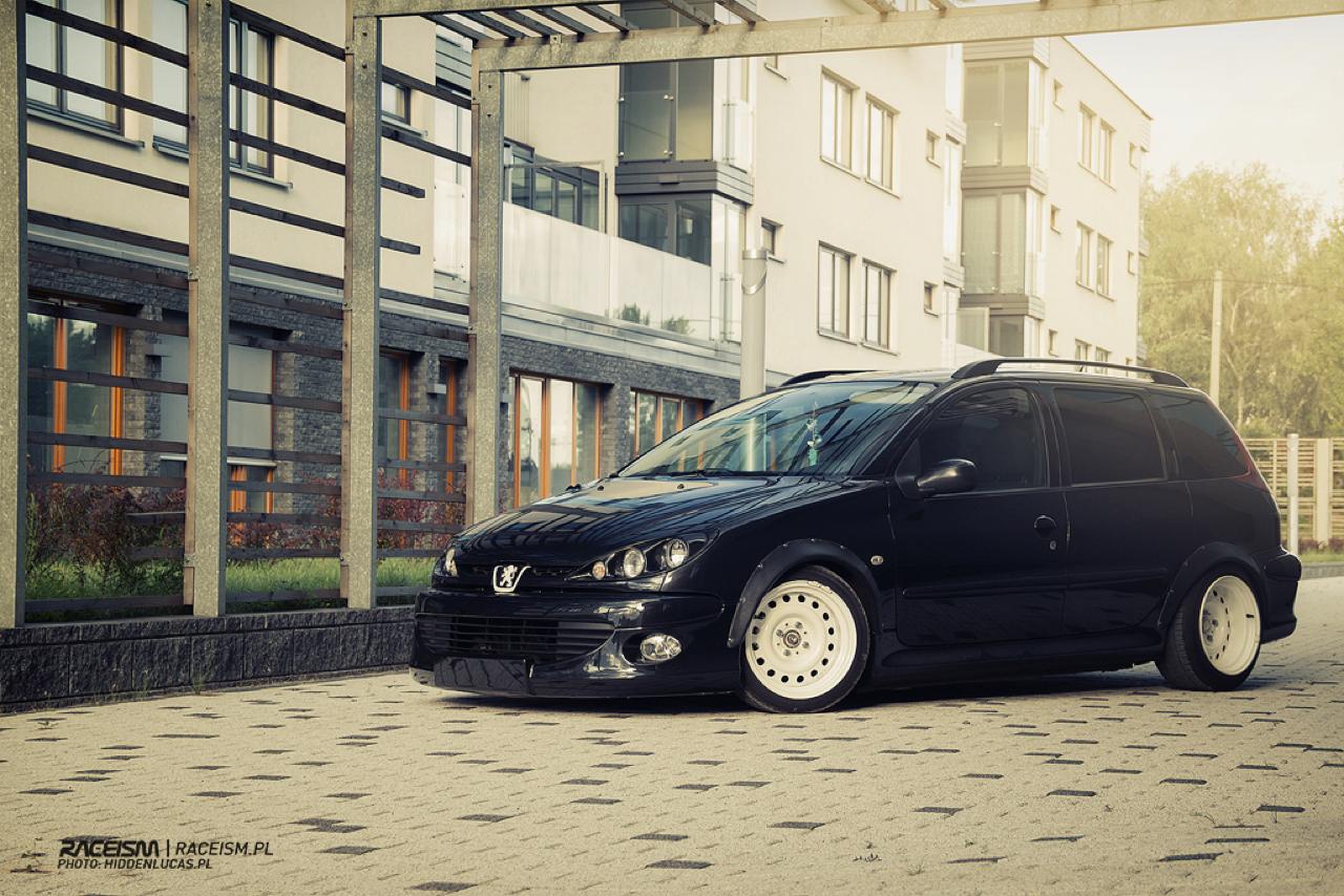 Peugeot 206 SW... Slammed en tôles ! 13