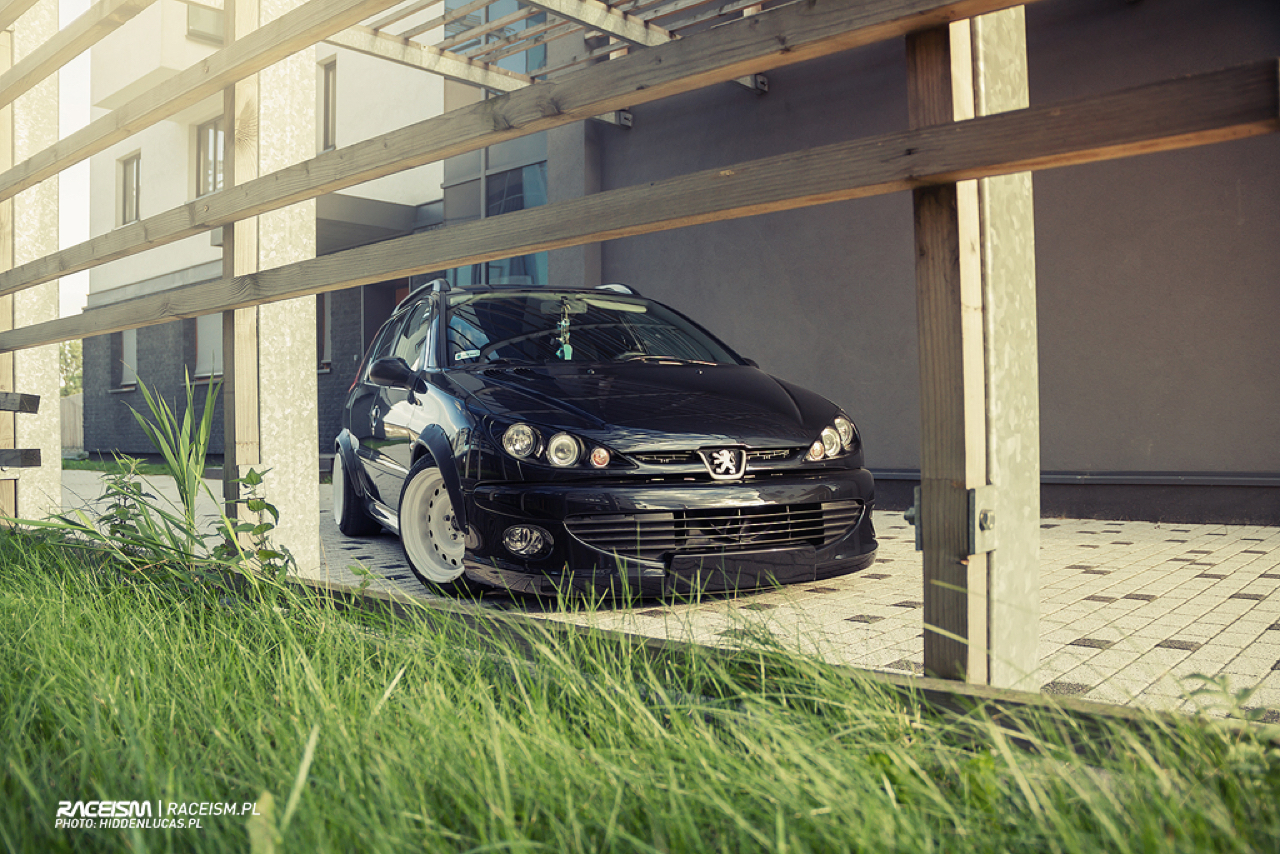 Peugeot 206 SW... Slammed en tôles ! 11