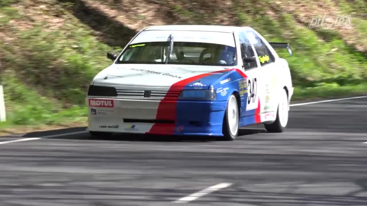 Hillclimb Monster : Peugeot 405 Mi16 - Un taxi dans la course ! 11