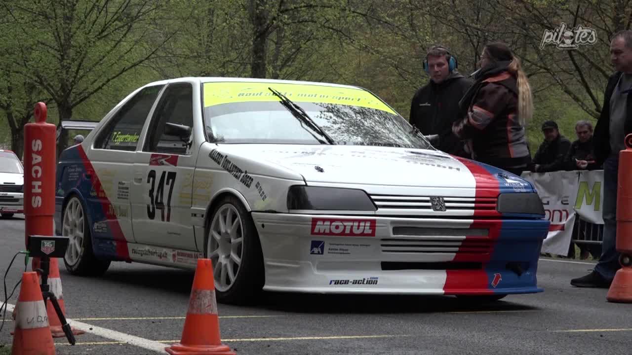 Hillclimb Monster : Peugeot 405 Mi16 - Un taxi dans la course ! 15