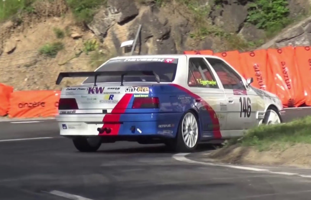 Hillclimb Monster : Peugeot 405 Mi16 - Un taxi dans la course ! 12