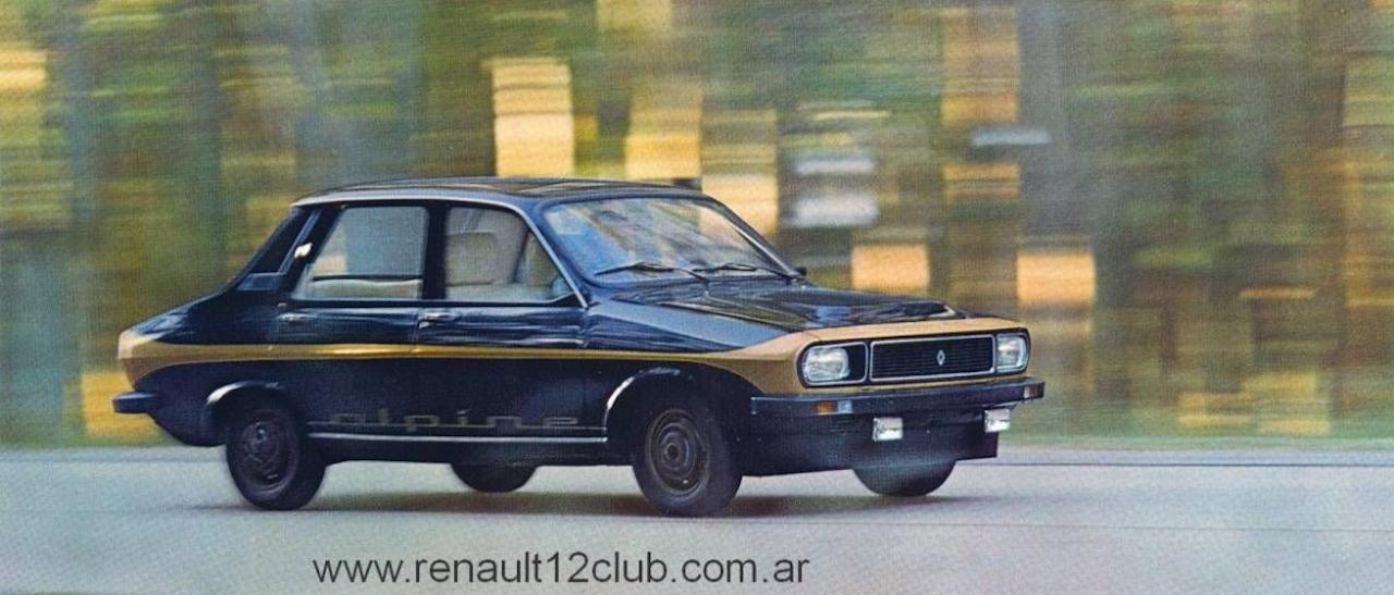Renault 12 Alpine : Paris Latino ! 26