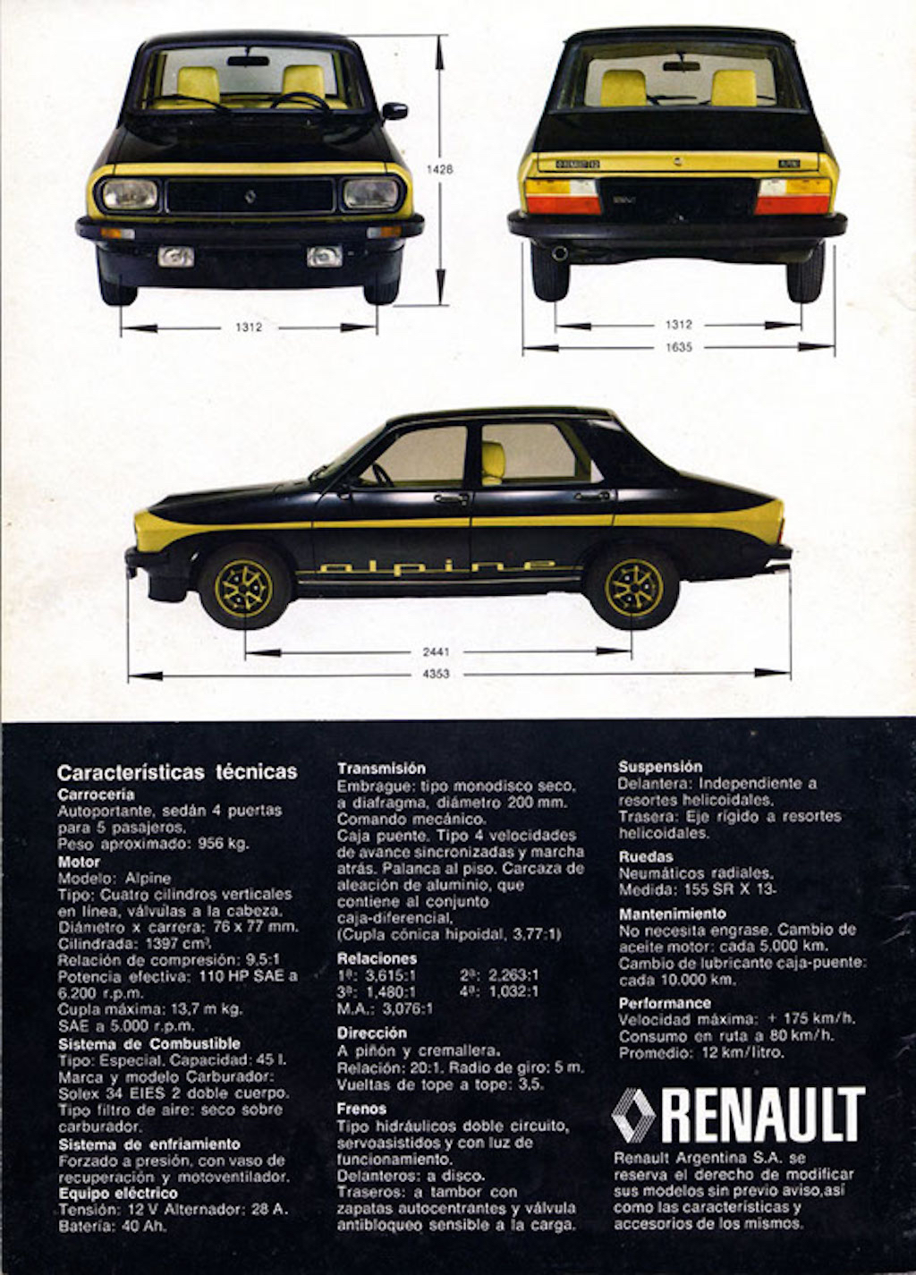Renault 12 Alpine : Paris Latino ! 21