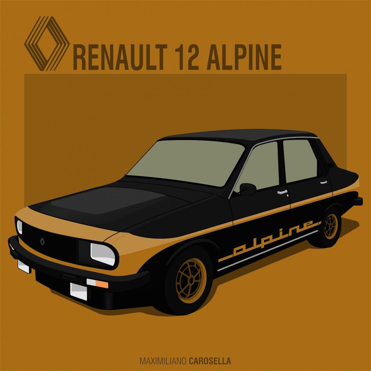 Renault 12 Alpine : Paris Latino ! 29