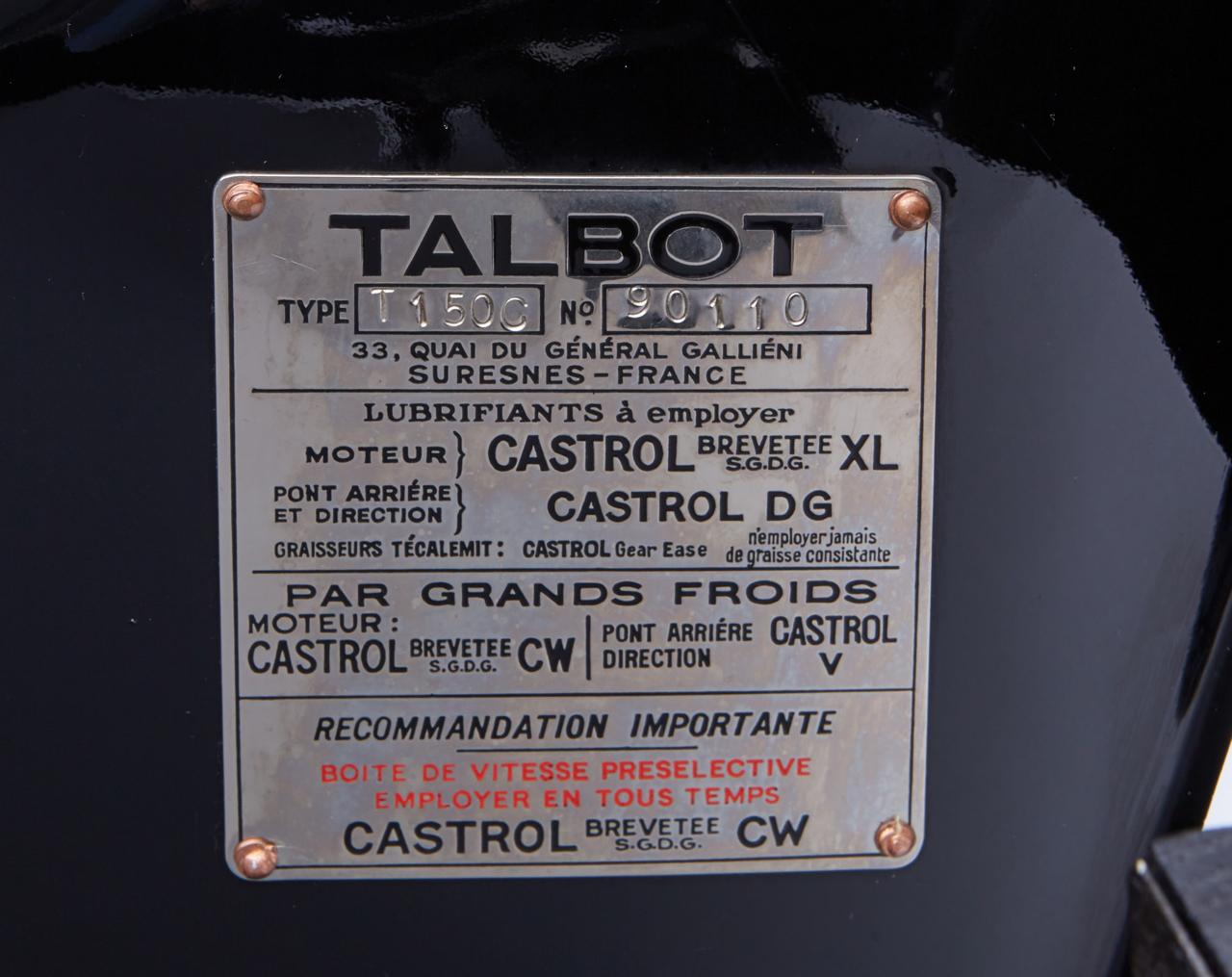 """Talbot Lago T150 C SS """"Goutte d'eau"""" Coupé - Oeuvre d'art ! 35"""