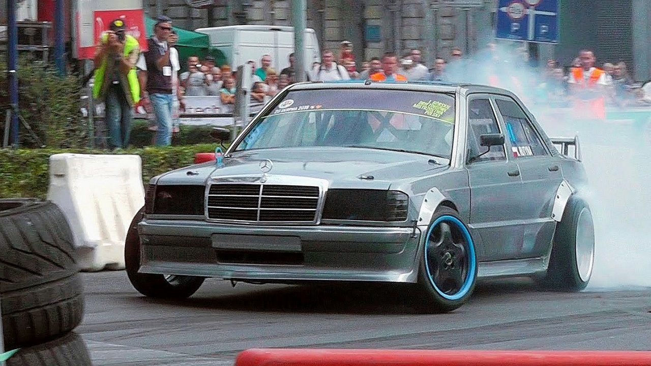 Mercedes 190 Drift - Salut ça V8 ? 17