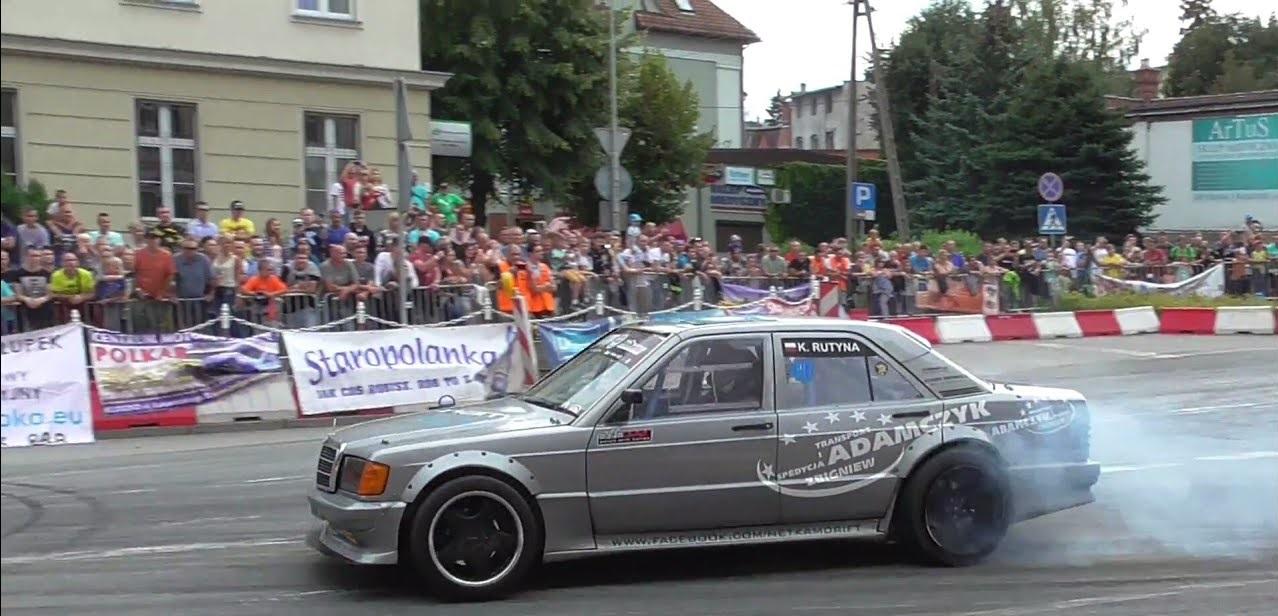 Mercedes 190 Drift - Salut ça V8 ? 5