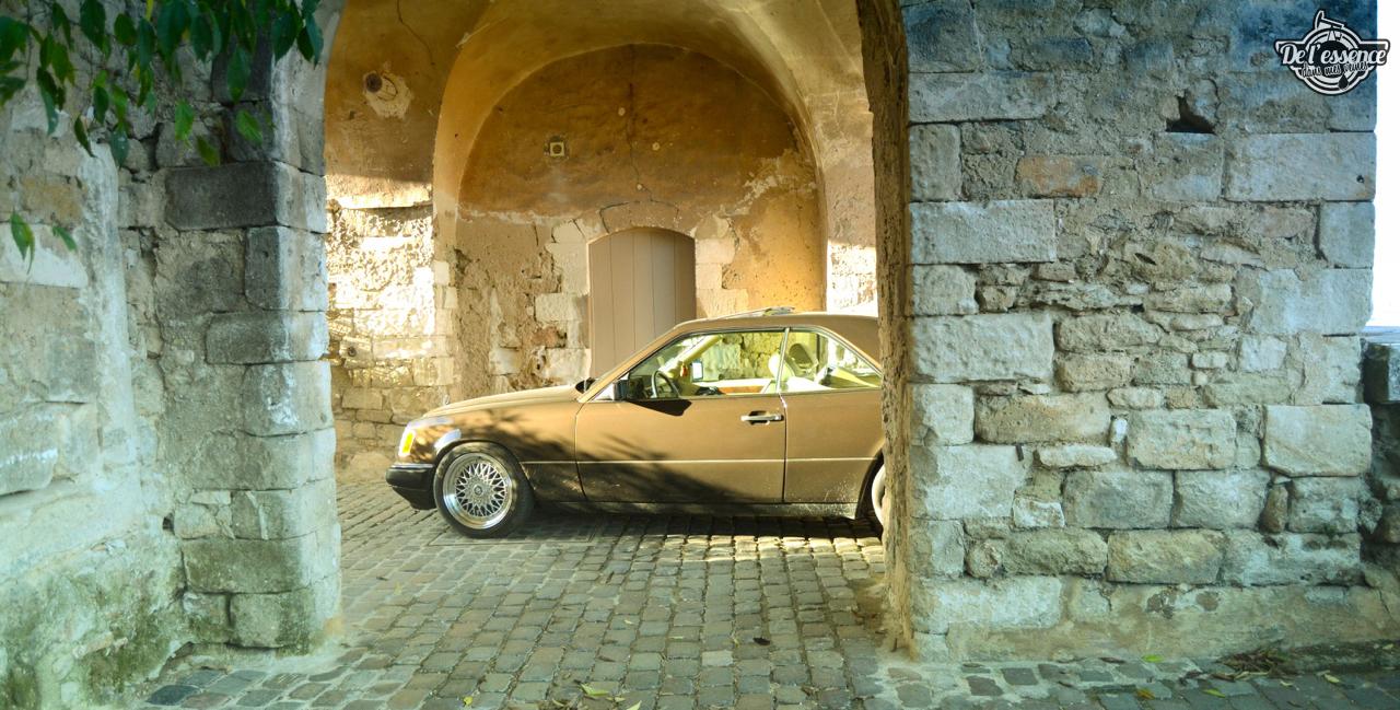 Mercedes 300 CE-24 : Gilles et la gitane ! 48