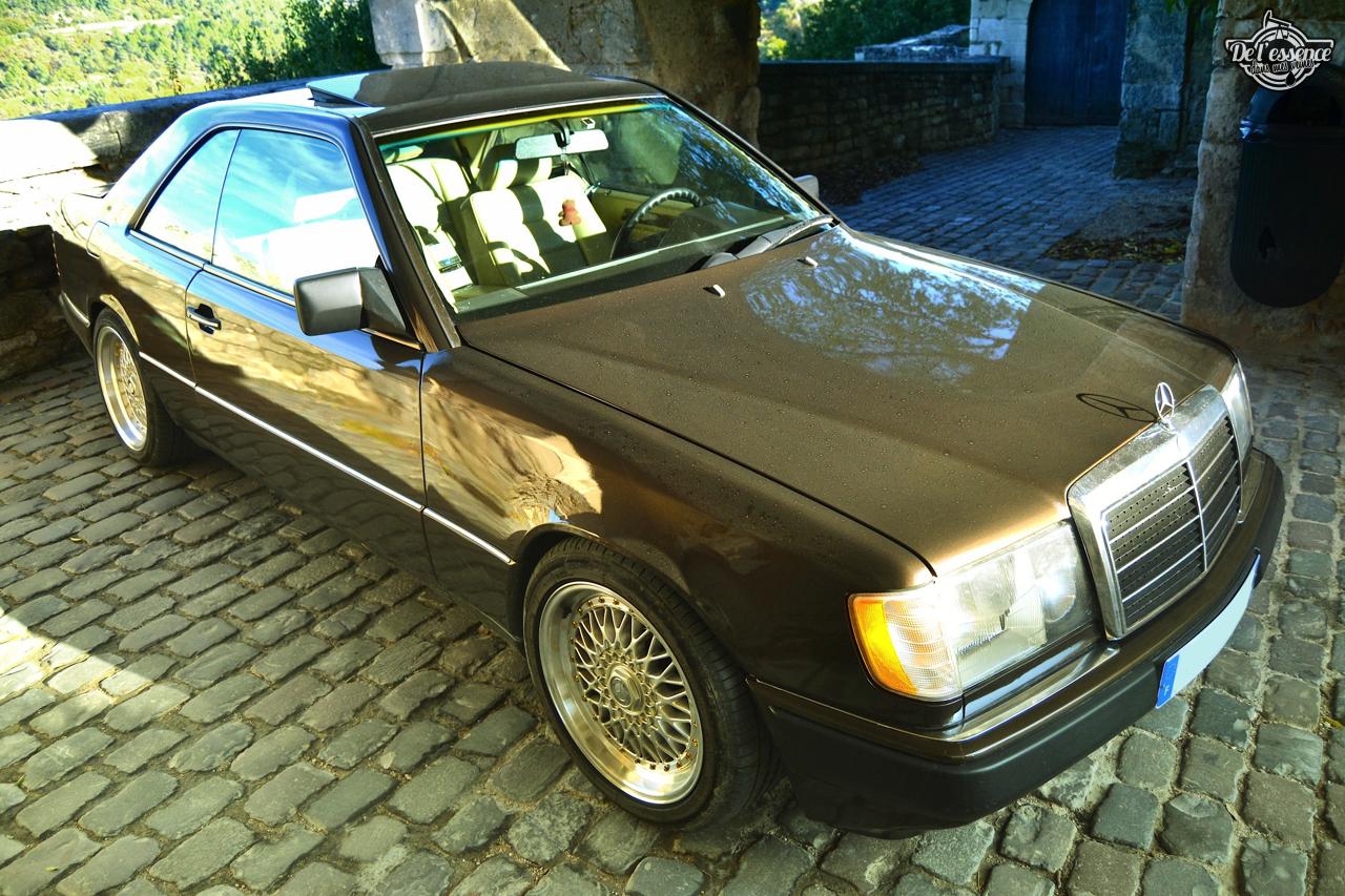 Mercedes 300 CE-24 : Gilles et la gitane ! 66