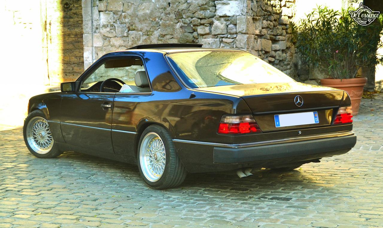 Mercedes 300 CE-24 : Gilles et la gitane ! 47