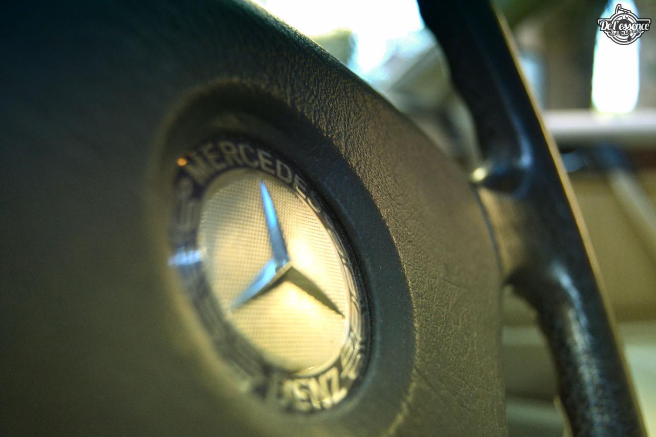 Mercedes 300 CE-24 : Gilles et la gitane ! 62