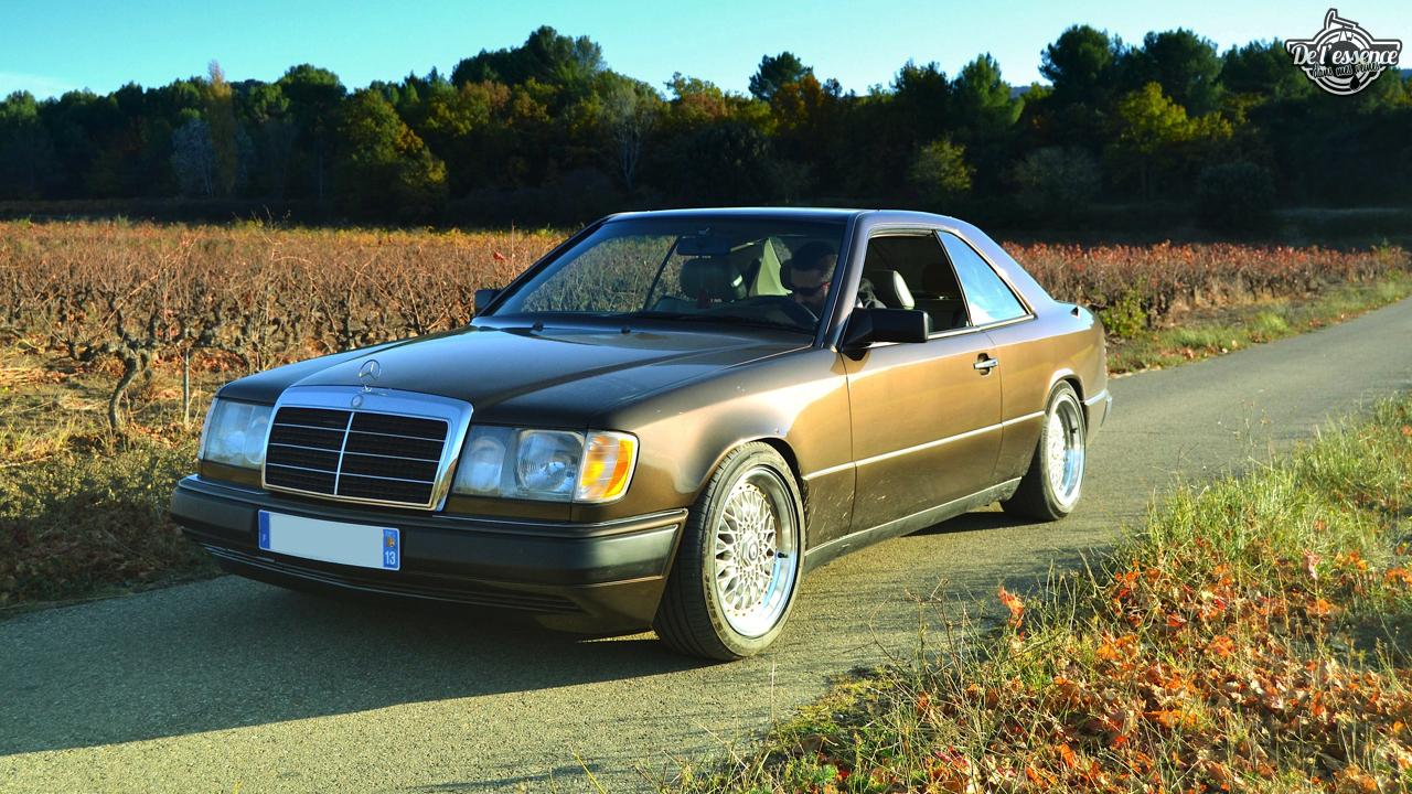 Mercedes 300 CE-24 : Gilles et la gitane ! 52