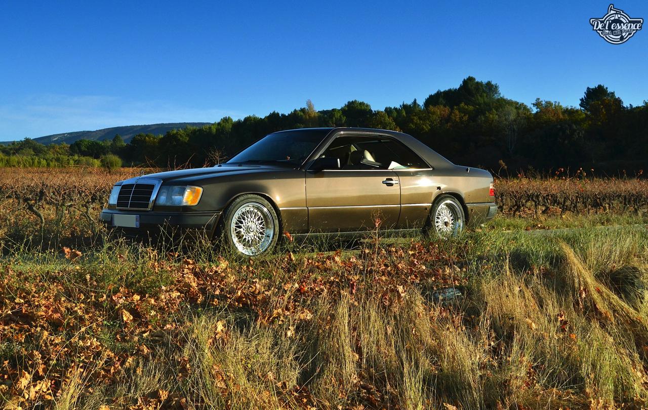Mercedes 300 CE-24 : Gilles et la gitane ! 59