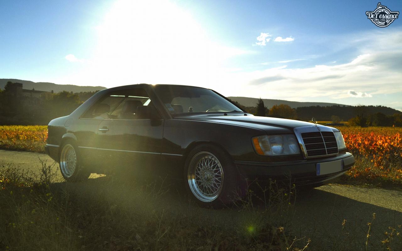 Mercedes 300 CE-24 : Gilles et la gitane ! 57