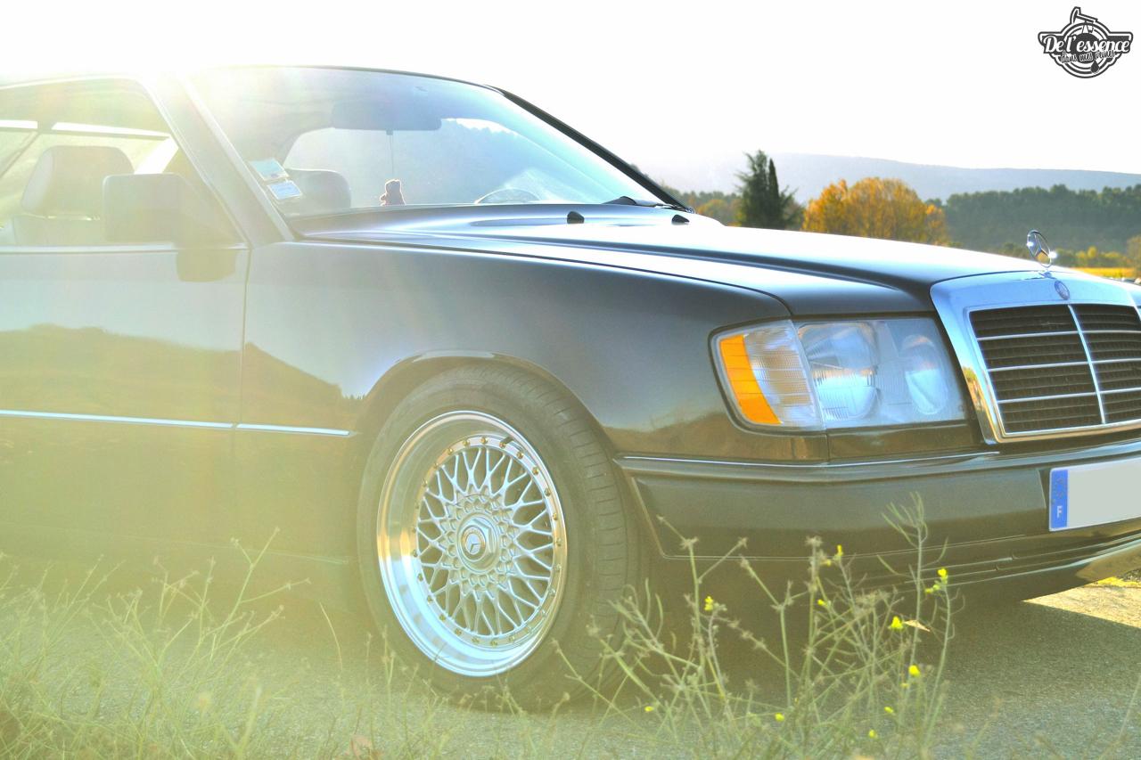 Mercedes 300 CE-24 : Gilles et la gitane ! 45