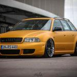 Bagged Audi RS4... Une familiale ça a du bon aussi !