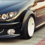 Peugeot 206 SW... Slammed en tôles !
