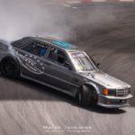 Mercedes 190 Drift - Salut ça V8 ?