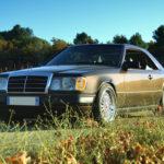 Mercedes 300 CE-24 : Gilles et la gitane !