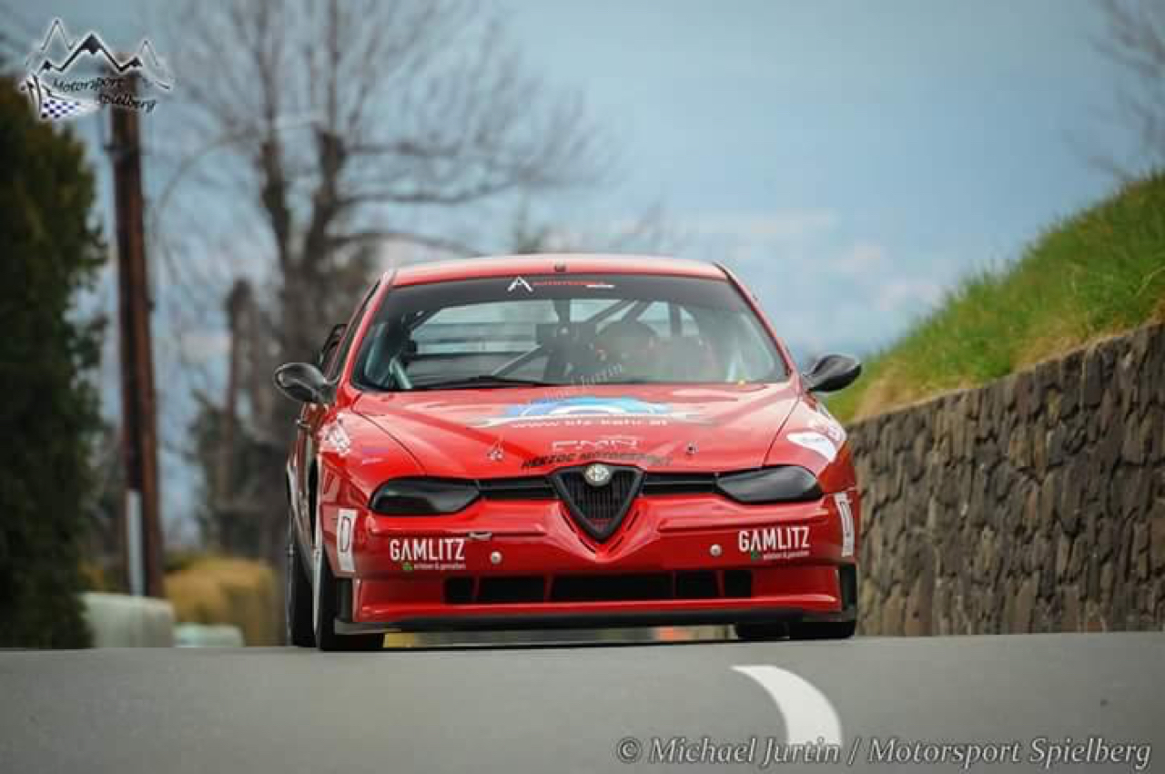 Hillclimb Monster : Alfa 156 STW - Atmosféérique ! 1