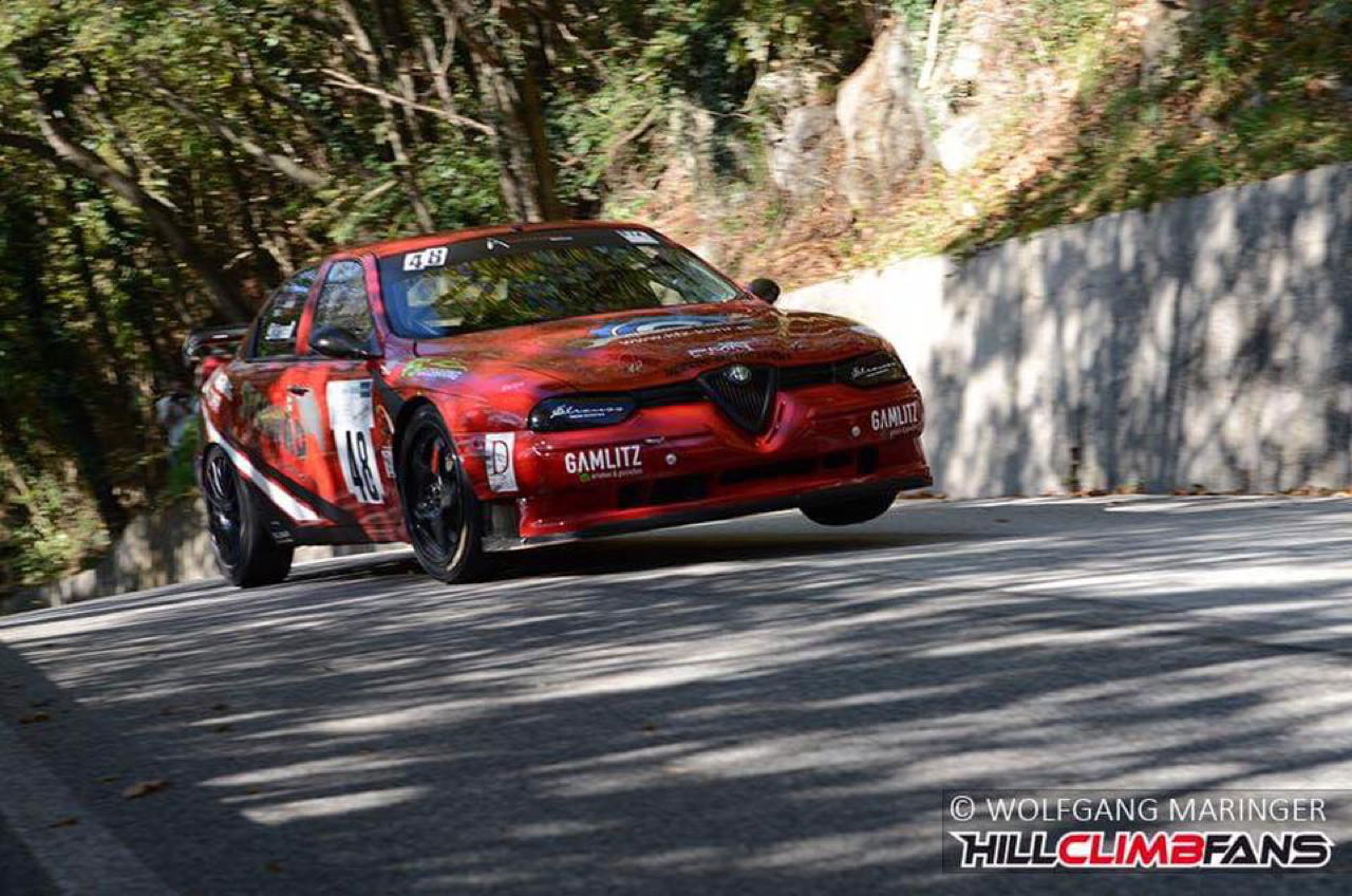 Hillclimb Monster : Alfa 156 STW - Atmosféérique ! 2