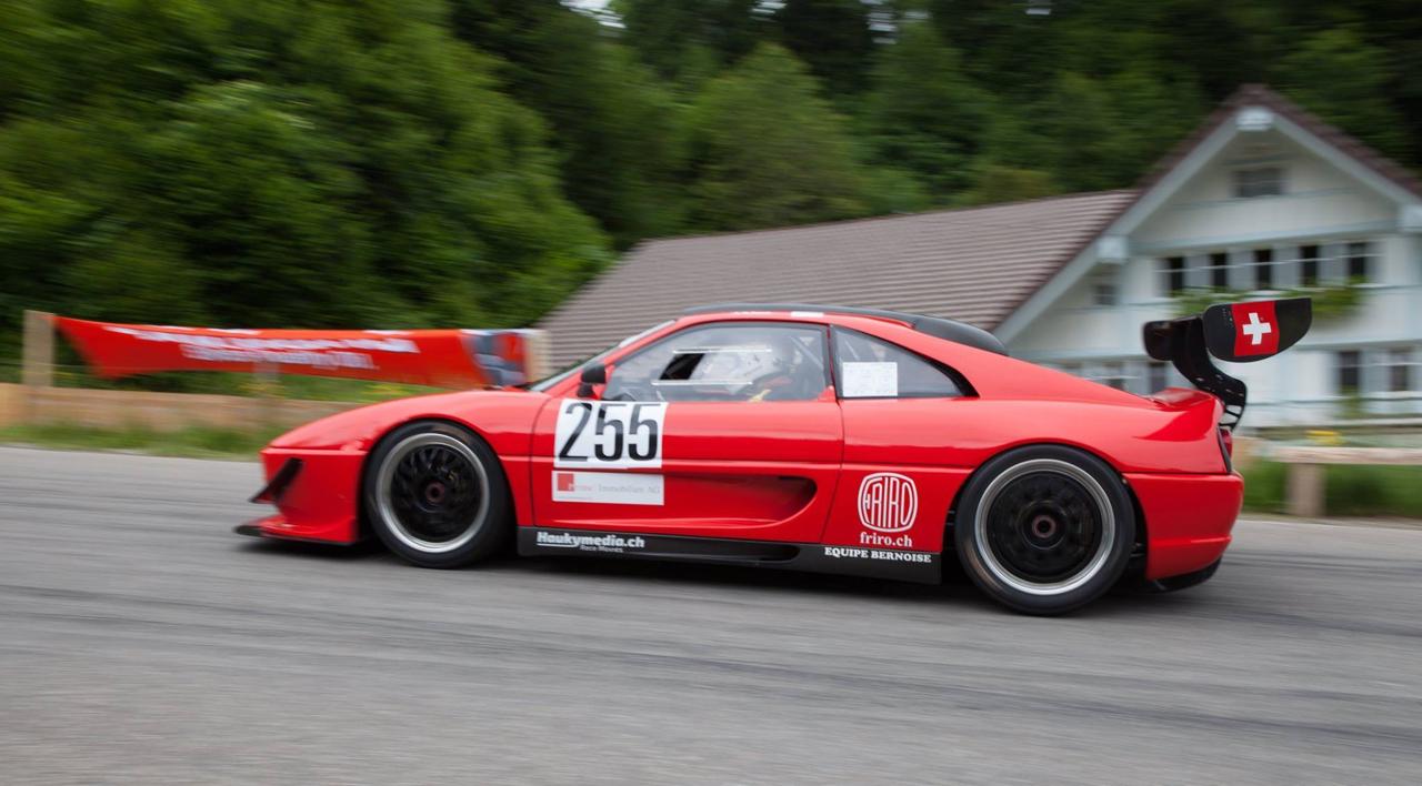 Hillclimb monster : Ferrari F355 GT en V8 Zytek ! 17