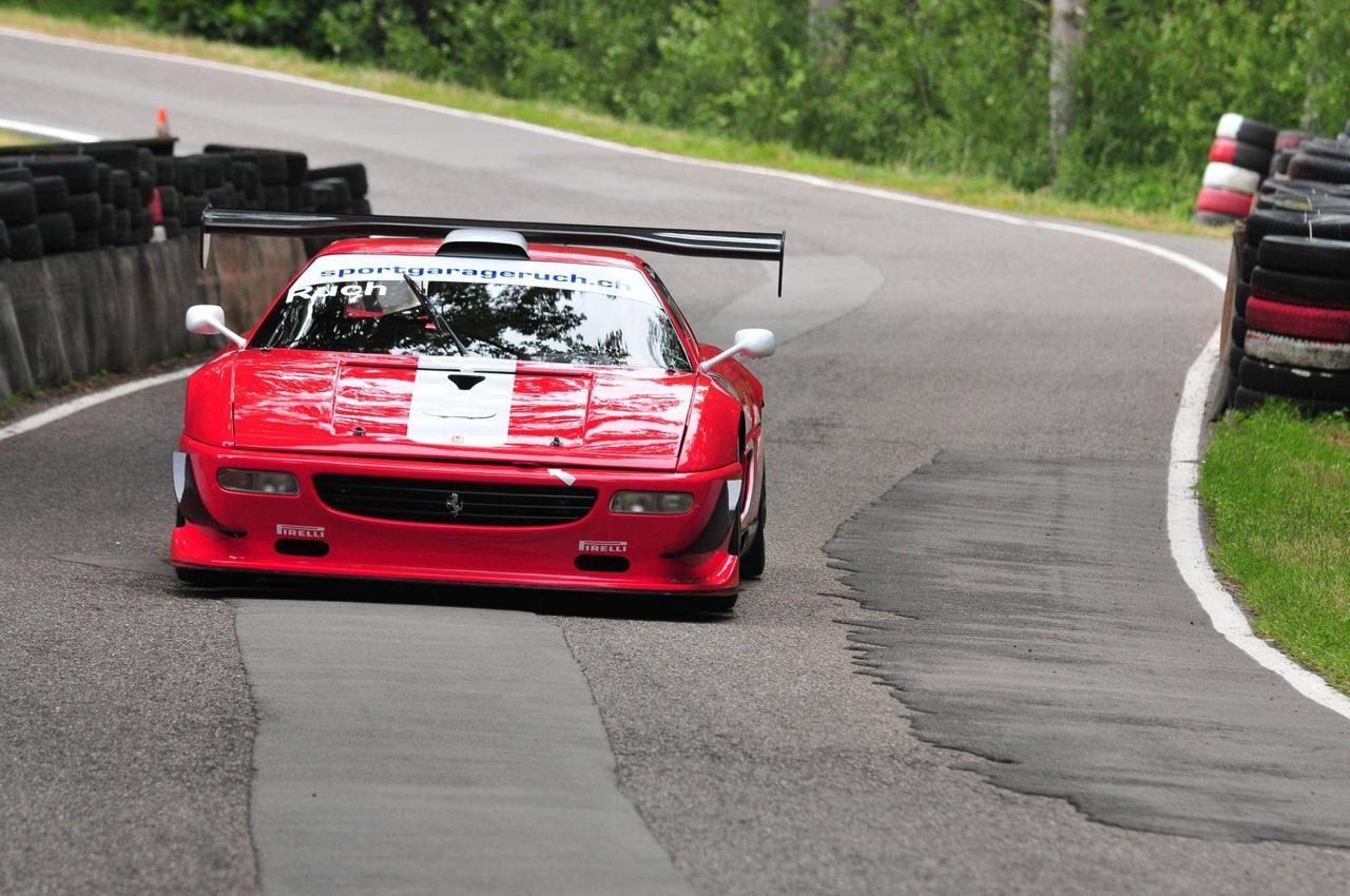 Hillclimb monster : Ferrari F355 GT en V8 Zytek ! 21
