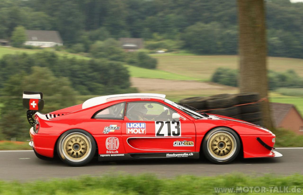 Hillclimb monster : Ferrari F355 GT en V8 Zytek ! 5