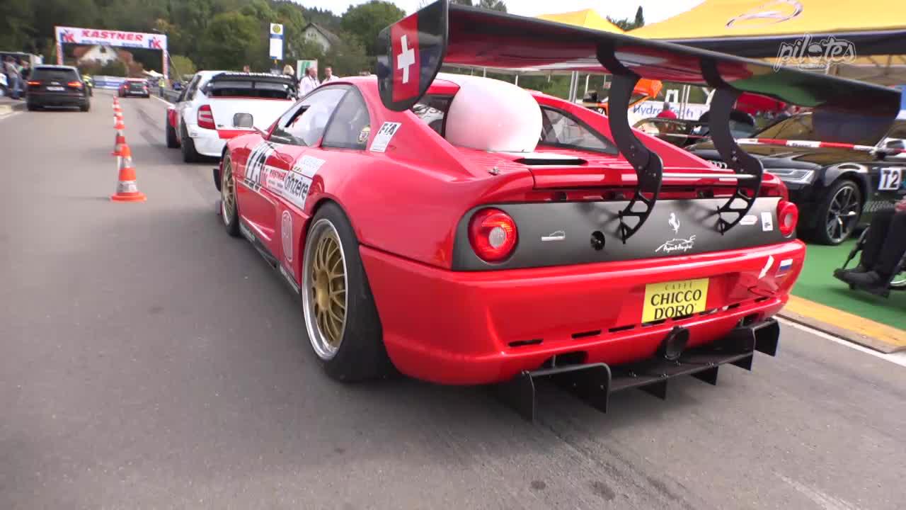 Hillclimb monster : Ferrari F355 GT en V8 Zytek ! 2