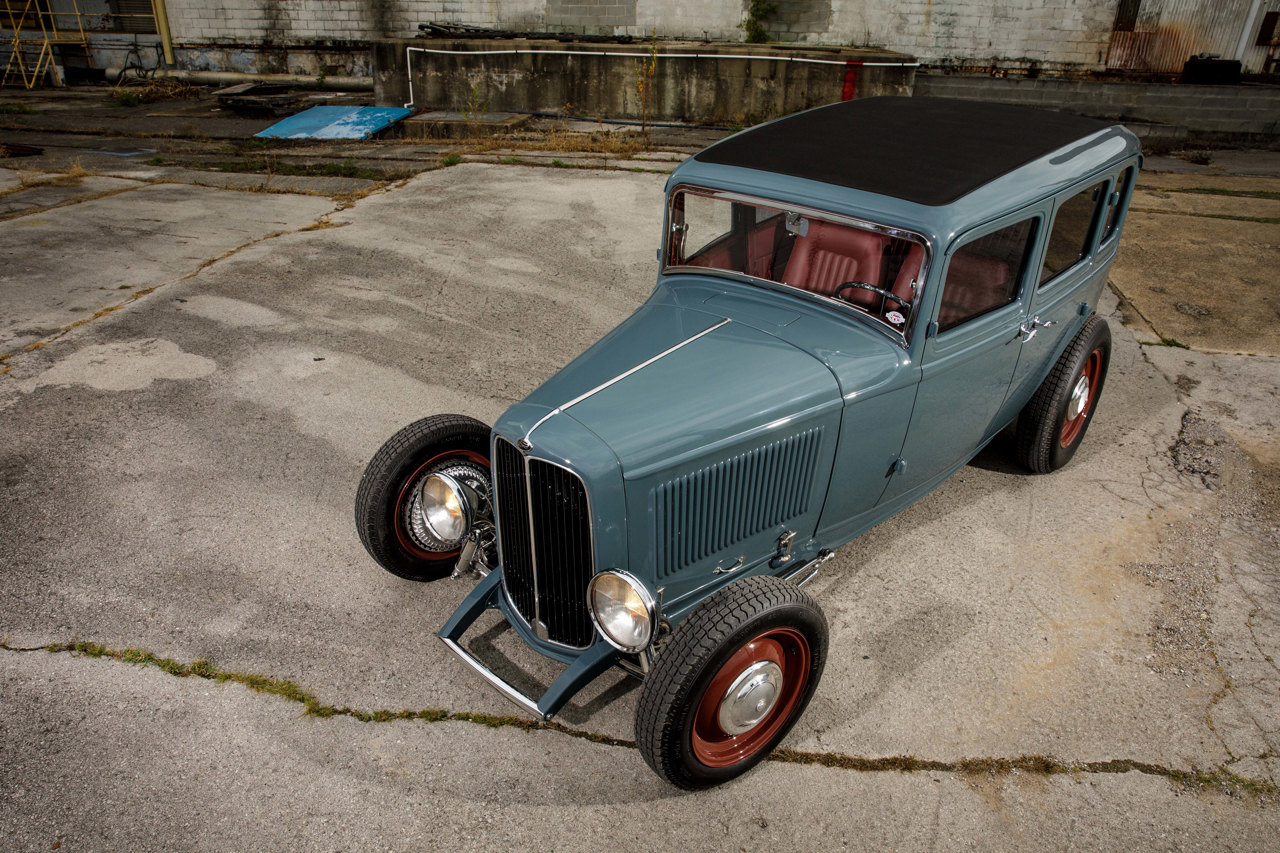 Ford 32 Four Door : Le custom en famille ! 6