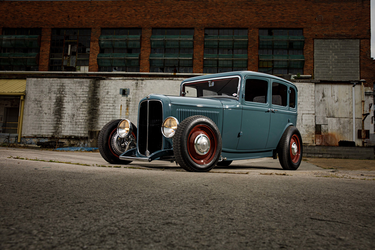 Ford 32 Four Door : Le custom en famille ! 1