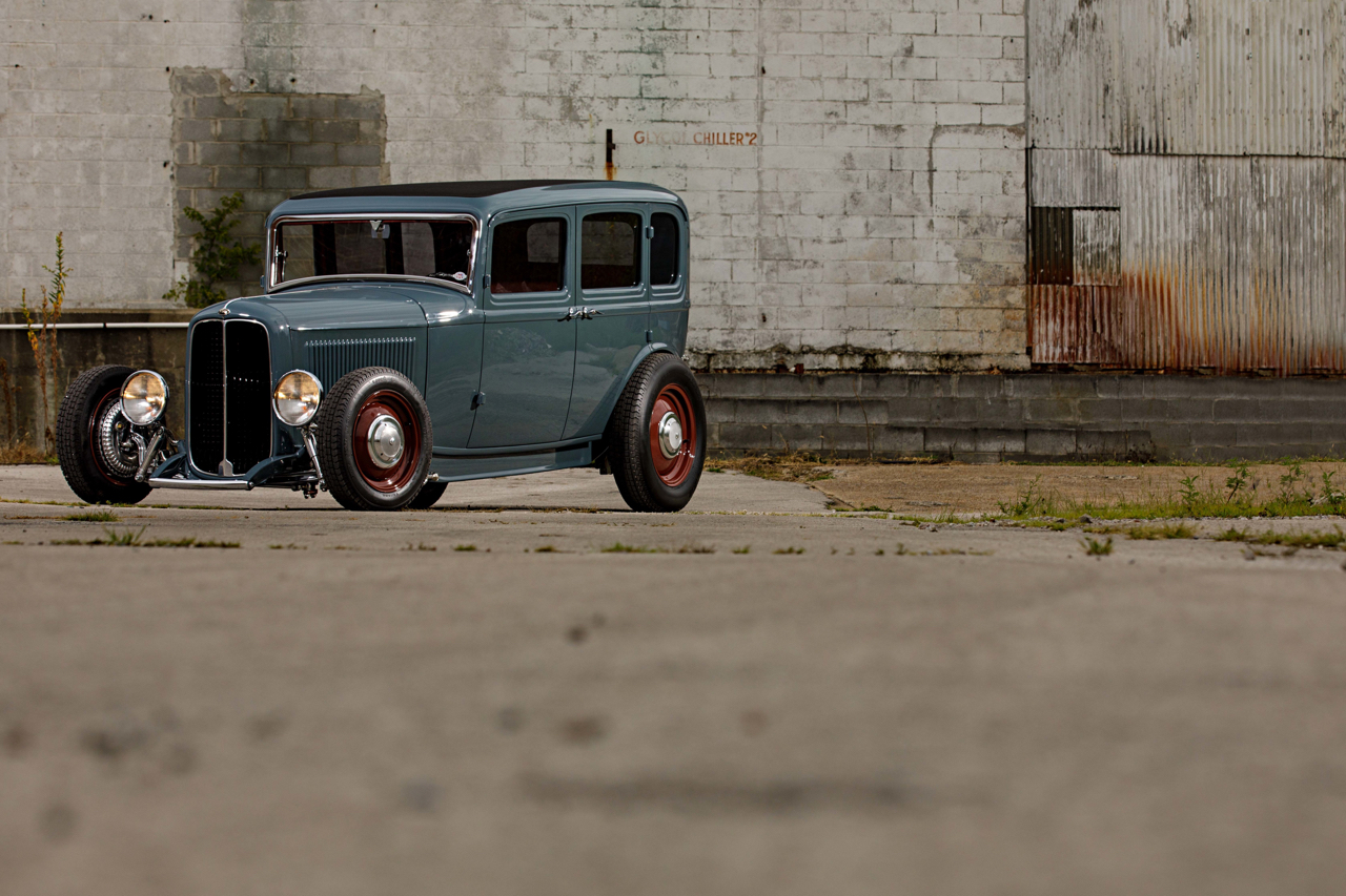 Ford 32 Four Door : Le custom en famille ! 8