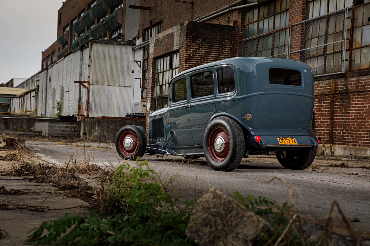 Ford 32 Four Door : Le custom en famille ! 20